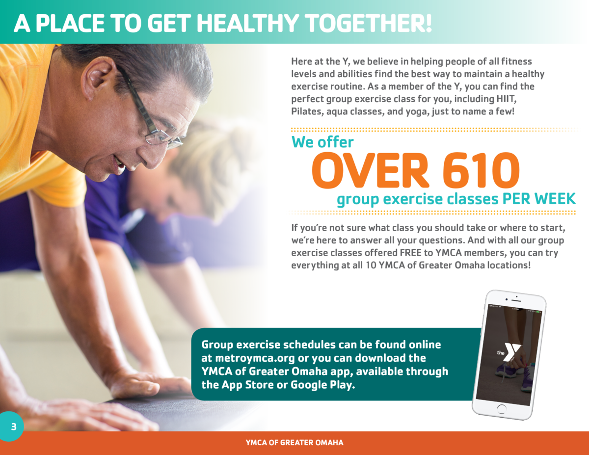 A PLACE TO GET HEALTHY TOGETHER  Here at the Y, we believe in helping people of all fitness levels and abilities find the ...